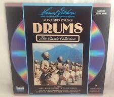 Alexander Korda's Drums Movie Laserdisc 1938 Classic, Raymond Massey