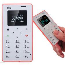 NewAIEK M5 Cell Phone Alarm Clock 128M Storage Thin Mini Pocket Card For Kids PK