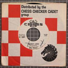 "Billy Stewart Secret Love 7"" Chess 1978 DJ Promo One sided"