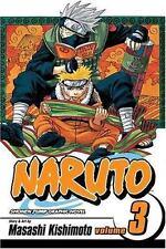 NARUTO Volume 3 DREAMS by Masashi Kishimoto FREE SHIPPING paperback book manga