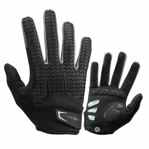 ROCKBROS Bicycle Full Finger Cycling Gloves Touch Screen MTB Road Bike Gloves