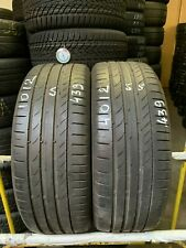 2x Sommerreifen Continental ContiSportContact 5 205/45 R17 88W 439 5,0-5,5mm
