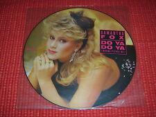 """SAMANTHA FOX - Do Ya Do Ya (Wanna Please Me) UK 1986 Jive 12"""" picture disc"""
