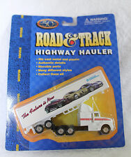DIECAST ROAD&TRACK HIGHWAY HAULER TRACTOR TRAILER Chrysler 1:87 HO scale