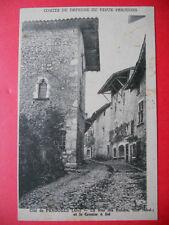 PÉROUGES  :  La Rue des Rondes et le Grenier à Sel......VO.1931.