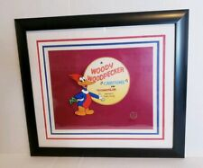 1999 Walter Lantz Woody Woodpecker Cartune #7/500 Framed Animation Cel with Coa
