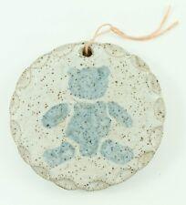 Vintage Artisan Pottery Bear Radzy Christmas Ornament Holiday Tree Decoration
