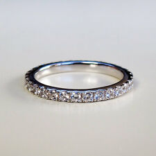 .55CTTW NSCD Diamond Round Cut Wedding Eternity Engagement Band!  BRILLIANT