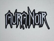 AURA NOIR BLACK/THRASH METAL IRON ON EMBROIDERED PATCH