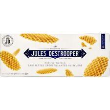Jules Destrooper Parisian Waffle Original Belgium Cookies Biscuits 100G