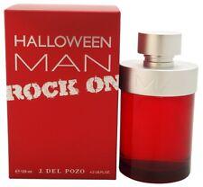 HALLOWEEN MAN ROCK ON * Jesus Del Pozo 4.2 oz / 125 ml EDT Men Cologne Spray