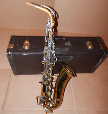 Vintage 1969 Buescher Alto Sax Saxophone !No Reserve!