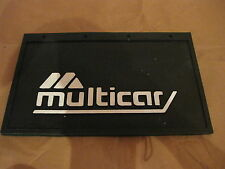 2 Stück Schmutzfänger hinten mit Logo Multicar für M24 M25 M26 IFA DDR *NEU*