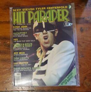 Hit Parader Magazine (Nov 1976) Paul McCartney Elton John David Bowie Yes