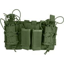 Viper Tactical Modular MOLLE Mag Rig Rifle & Pistol Magazine Pouch Set Green