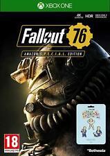 Fallout 76 Edizione Speciale un Gioco Xbox + 3 Pin Spille per XB1 -