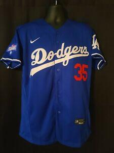 Los Angeles Dodgers #35 Cody Bellinger 2020 World Series Champions Jersey S-XXL