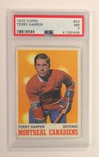 1970/71 TOPPS TERRY HARPER MONTREAL CANADIENS CARD #53 PSA 7 NM CONDITION