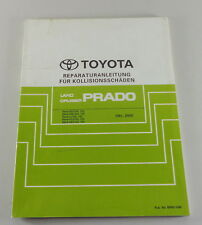 Manual de Taller Carrocería Toyota Land Cruiser Rzj 125 - Kdj 125 Von 10/2002