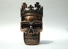 Skull Grinder Chillimühle Kräutermühle Gewürzmühle Crusher, Totenkopf  Metall II