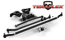 TeraFlex JK Complete High Steer System w/ Kuckles / HD Tie Rod / Drag Link Flip