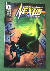 Nexus Executioner's Song #1 Dark Horse Comics Bronze Age Steve Rude M Baron vfnm