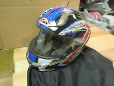 ZOX MOTORCYCLE MOTOCROSS ATV SNOWMOBILE SCOOTER HELMET - FULLFACE PRIMO XL RWB
