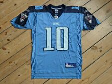 NFL Tennessee Titans Reebok On Field Jersey - Young #10 - Medium Mens