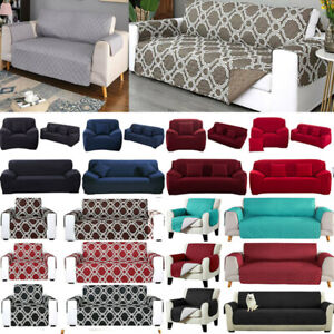 Sofa Covers Throw Furniture Protector Waterproof Seater Slipcover Pet Seat Cover