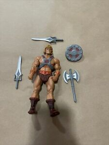 MOTUC Masters Of The Universe Classics HE-MAN 100% Complete Matty Collector Lot1