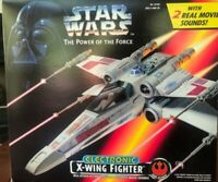 STAR WARS X-WING FIGHTER POTF ELECTRONIC  open box, complete