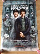 Sherlock Holmes Movie Poster. Robert Downey JR. Jude Law.