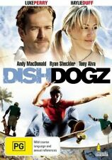 DISHDOGZ Andy MacDonald, Ryan Sheckler and Tony Alva DVD NEW