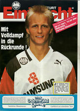 BL 91/92 Eintracht Frankfurt - Fortuna Düsseldorf