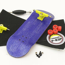 P-Rep WIDE 32mm Basic Complete Wooden Fingerboard -Purple with Bearings and Nuts