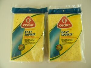 O Cedar Easy Squeeze Hinge Mop Refill 2 Pack