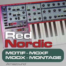 NORD LEAD 2 SAMPLES for MOTIF ES XS XF MOXF MODX MONTAGE KEYMAPS READY TO PLAY