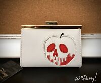 2019 LOUNGEFLY Disney Snow White Poisoned Apple Wallet Coinpurse Style Clutch