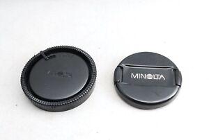Minolta 55mm front lens cap,LR-1000 rear cap from Japan13