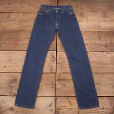 "Womens Vintage Levis Red Tab 501 Blue Denim Mom Boyfriend Jeans 28"" x 34"" R12872"