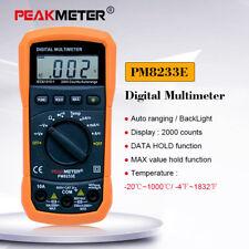 LCD Digital Multimeter Voltmeter Ammeter AC DC Current Circuit Tester 10A 600V