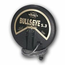 """WhitesBullseye 5.3"""" Waterproof Search Coil 6.59 kHz Concentric 801-3188-2"""