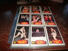 1985 WWF Pro Wrestling cards Stars Series 2 opc complete set wwe 3 o pee chee