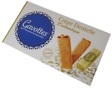 Gavottes, Crepes dentelle, L'authentique, natur, Kekse, 125g Gebäck Kekse