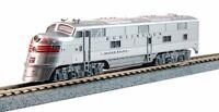 Spur N - Kato Diesellok EMD E5A Silver Speed -- 176-5404 DCC  NEU