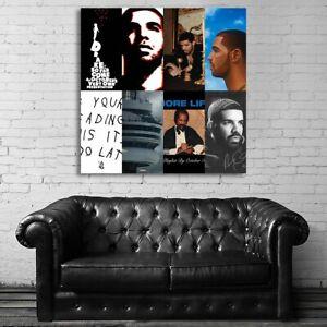 EB510 Drake Rap Hip Hop Art Music Musician Poster and Canvas
