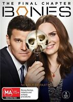 Bones : Season 12 DVD : NEW