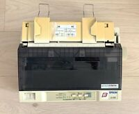 EPSON LX300 9 pin Dot Matrix Printer, Colour Upgradable, Tested and Working, wit