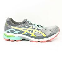 Asics Womens Gel Pulse 7 T5F6Q Gray Blue Running Shoes Low Top Lace Up Size 9.5