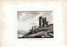 ANTIQUE IRISH PRINT - STRANKELLY ON THE BLACK WATER V- HOOPER COPPERPLATE (1791)